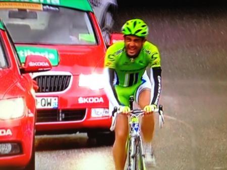 Daniele Ratto se impuso en una etapa muy dura por el frío y la lluvia