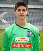 Thibaut Courtois con 16 años
