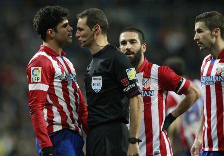 Diego Costa se desentendió del partido