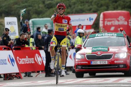 Contador apuntala su liderato en La Farrapona