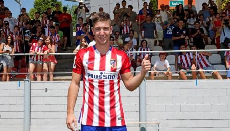 Luciano Vietto presentado por el Atleti