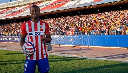 Jackson Martínez, presentado en el Calderón
