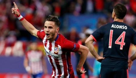 Histórico gol de Saúl Ñíguez