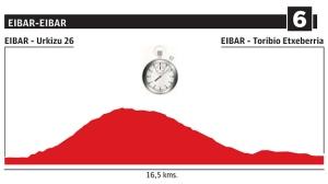 Etapa 6: Eibar / Eibar - CRI (16 km)