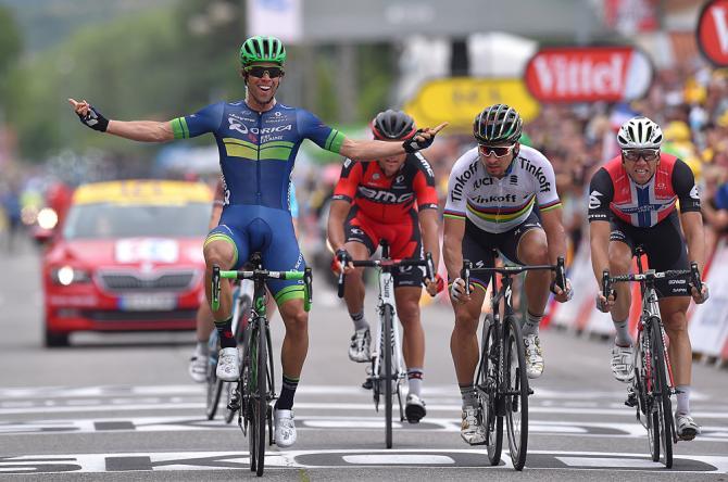 Matthews logra su primera victoria en el Tour