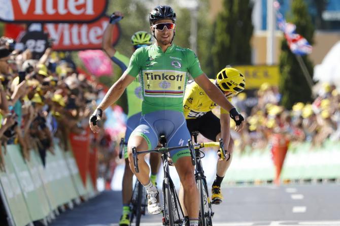 Segunda victoria de etapa para Sagan en este Tour