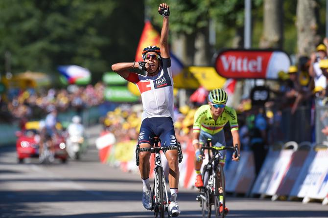 Primera victoria de Jarlinson Pantano en el Tour