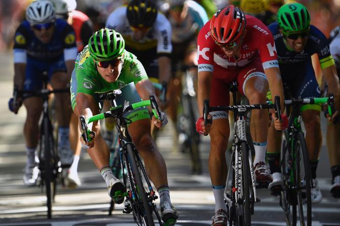 Sagan vence por centímetros a Kristoff