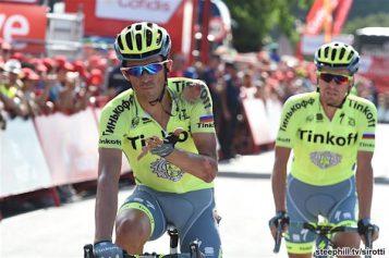 Una nueva caída para Alberto Contador