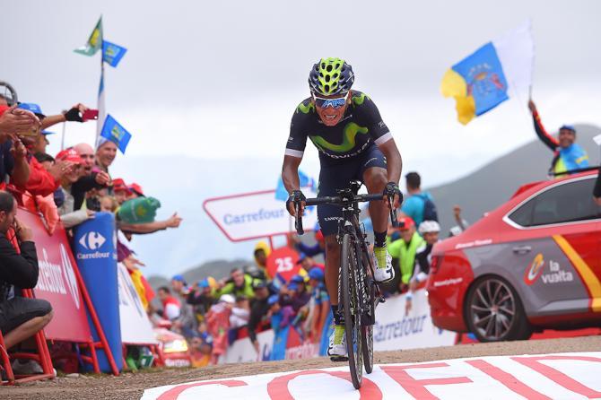 Nairo Quintana fue el más fuerte en Covadonga