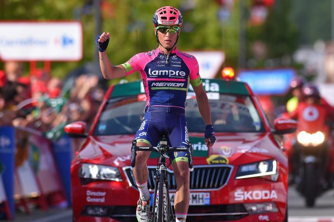 Conti gana la etapa más larga en Urdax